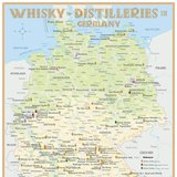 Whisky Distilleries in Germany – Poster 42,0 × 60,0 cm (Standard Edition)