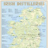 Irish Distilleries – Poster 42,0 × 60,0 cm (Standard Edition)