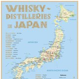 Whisky Distilleries in Japan – Poster 42,0 × 60,0 cm (Standard Edition)