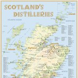 Scotland's Distilleries  –  Poster 42,0 × 60,0 cm (Standard Edition)