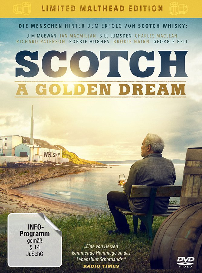 DVD Scotch A Golden Dream Limited Malthead Edition