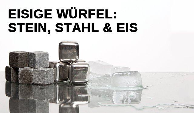 Eisige Würfel: Stein, Stahl und Eis