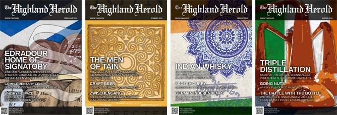 The Highland Herold #30 bis 33 – Jahrgangs-Bundle 2016