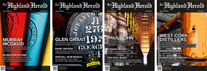 The Highland Herold #34 bis 37 – Jahrgangs-Bundle 2017