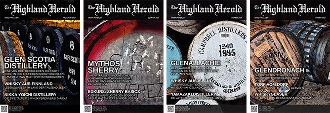 The Highland Herold #38 bis 41 – Jahrgangs-Bundle 2018